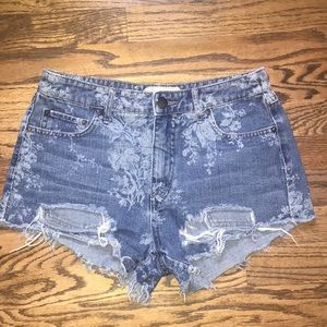 Free People Shorts - Free People Denim Jean Shorts